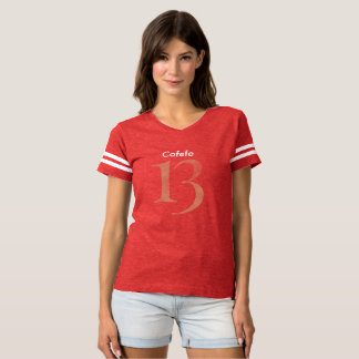 Womens Football shirt Covfefe 13
