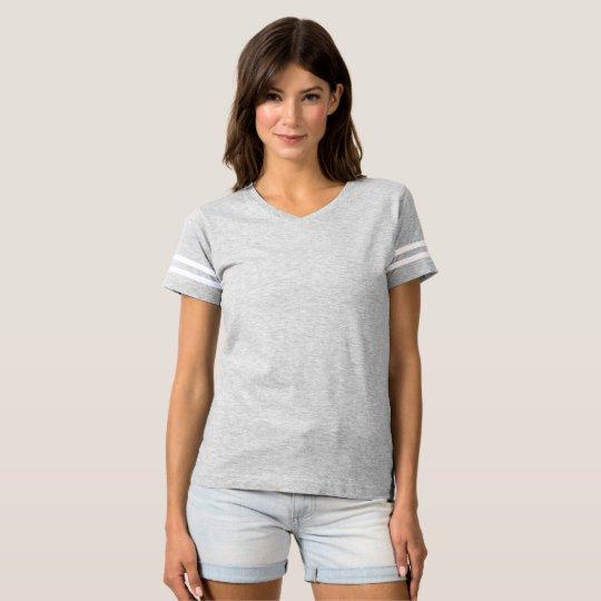 Football T-Shirt, Heather Grey
