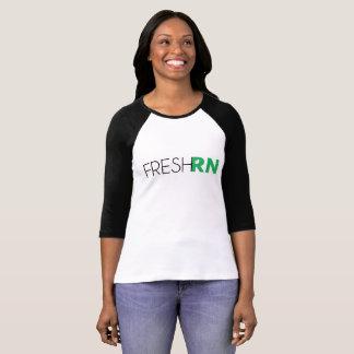 Womens FreshRN Baseball Tee