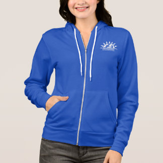 Women's Full Zip Hoodie - Cotton Broadway School