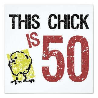 Women's Funny 50th Birthday Card