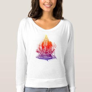 Women's Ganesha Flowy T-Shirt