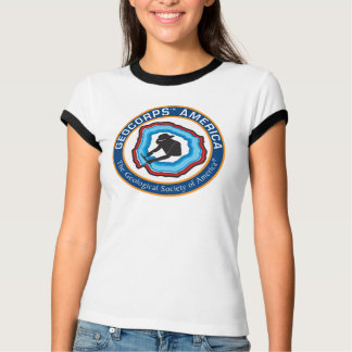 Women's GeoCorps America Ringer T-Shirt