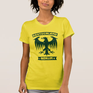 Womens German Eagle Deutschland Berlin T-Shirt