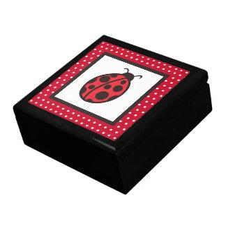 Women's Girl's Ladybug Jewelry Box Gift