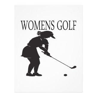 Womens Golf Flyer