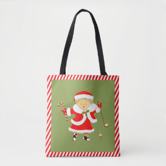 womens golf holidays tote bag