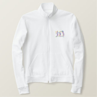 Women's Golf Sequence Embroidered Jacket
