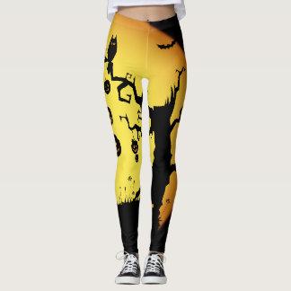 Women's Halloween Print Leggings
