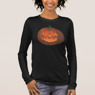 Women's Halloween Shirt Jack-o-lantern Plus Size