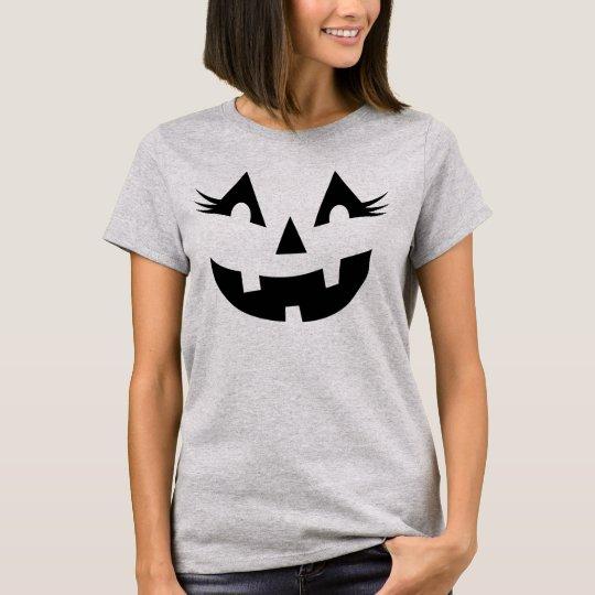 Women's Halloween Shirt | Pumpkin Face