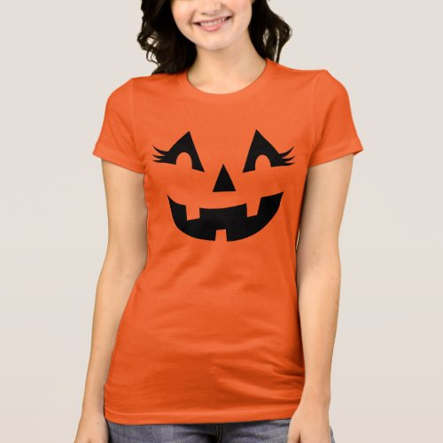 Women's Halloween Shirt | Pumpkin Face