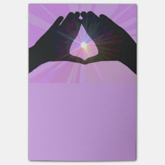 Women's Hands note pad