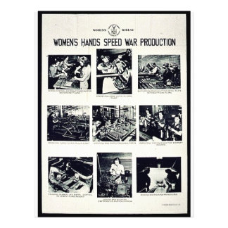 Women's Hands Speed War Production Full Color Flyer