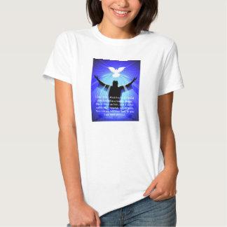Women's Hanes ComfortSoft T-shirt - Luke 3:22