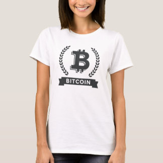 Women's hanes nano bitcoin logo t-shirt