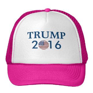 WOMENS HAT TRUMP PRESIDENTIAL 2016 HAT  US FLAG