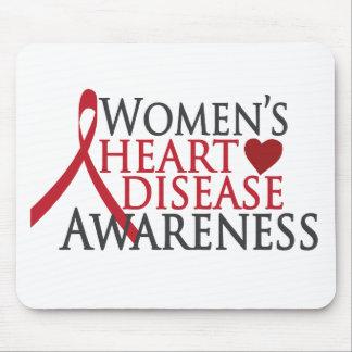 Women's Heart Disease Awareness Mouse Pad
