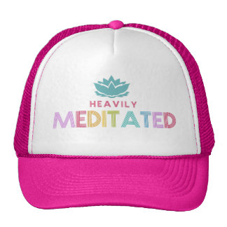 Women's Heavily Meditates Lotus Flower Yoga Cap