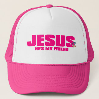 Womens He''s My Friend Hat
