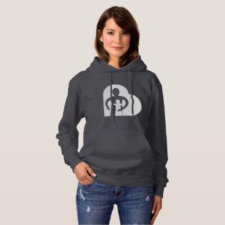 Womens Hoodie (dark grey)