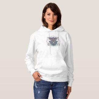 Women's Hoodie Spirit Owl Design