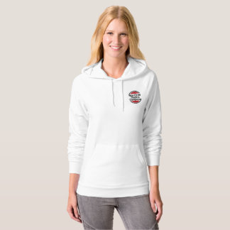 Women's hoodie with New Circle logo
