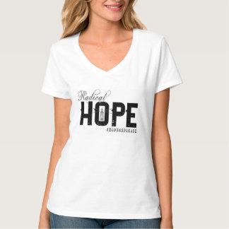 Women's HOPE V-Neck T T-Shirt