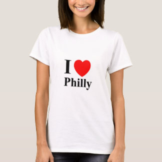 WOMENS I LOVE PHILLY SPAGHETTI TOP
