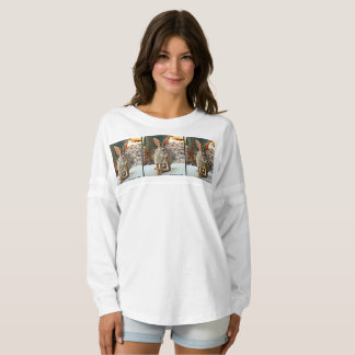 Women's Jersey Long Sleeve Bunny Top