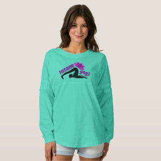 Women's Jersey Shirt with Insane Yogi sign