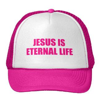 Womens Jesus Is Eternal Life Hat