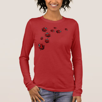 Women's Ladybug Shirt Red Ladybug Shirt Tee