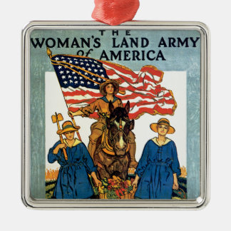 Women's Land Army Christmas Ornament