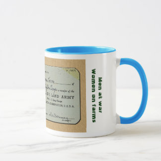 Women's Land Army Mug