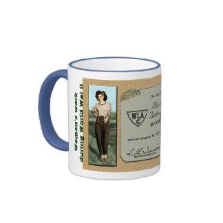 Women's Land Army Ringer Coffee Mug