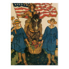 Women's Land Army Postcard
