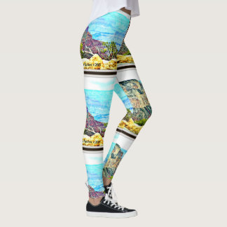 Women's Leggings Pastel Grand Canyon