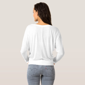 Womens long sleeve off the shoulder T-Shirt