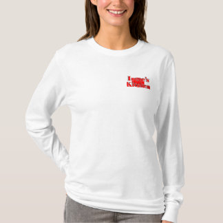 Women's Long Sleeve T-Shirt W/Irene's Kitchen Logo