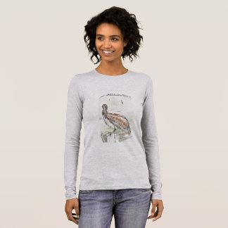 Women's Long Sleeve Tee, Color Heather Grey Long Sleeve T-Shirt