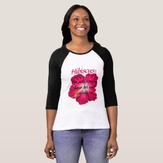 Women's Long Sleeved Hibiscus T-shirt