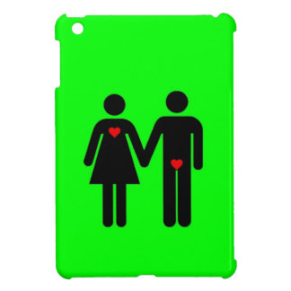 Womens love vs mens love joke humour iPad mini cases
