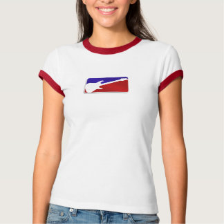 Womens Major League Guitar Logo T-Shirt