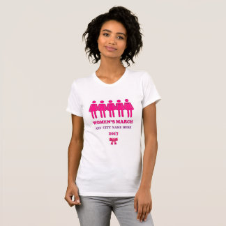 Women's March 2017 T-shirt. T-Shirt