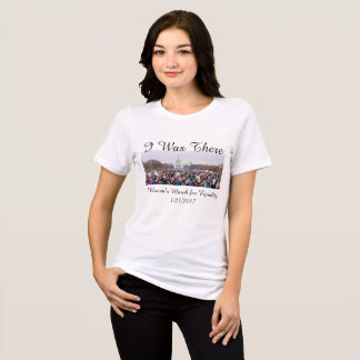 """Women's March Anti-Trump Protest in Washington DC T-Shirt"