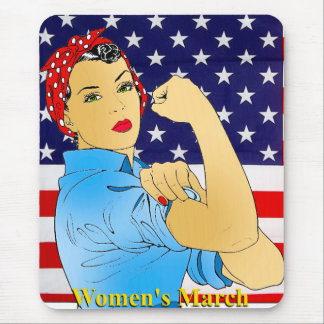 Women's March Mouse Mat