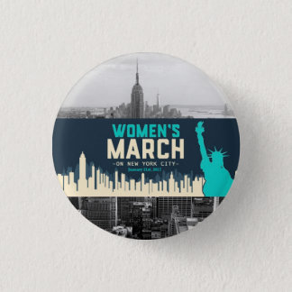 Women's March on NYC 3 Cm Round Badge