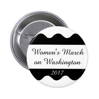 Women's March on Washington 6 Cm Round Badge