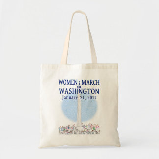 Women's March on Washington by Pearl - Tote Bag
